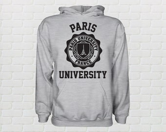 University of Paris Hoodie - All Sizes Available