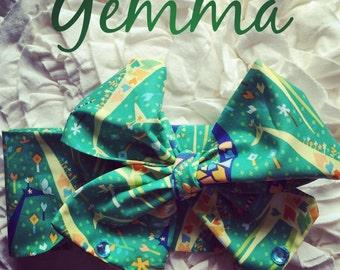 Gemma Giraffe headwrap Homemade.