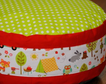 Floor pouf/ floor cushion for kids, toddlers