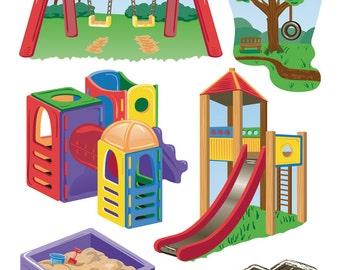 Sticko Scrapbooking Stickers - Playground
