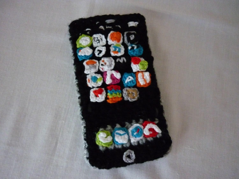 Crochet PATTERN iPhone 6 phone case crochet by CrochetpatternA