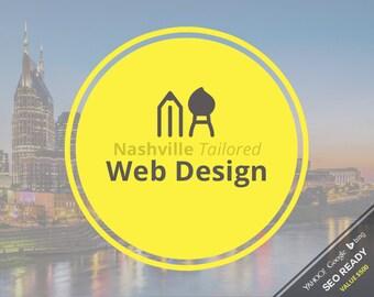 Web Design - Nashville Tailored Custom Web Design Package