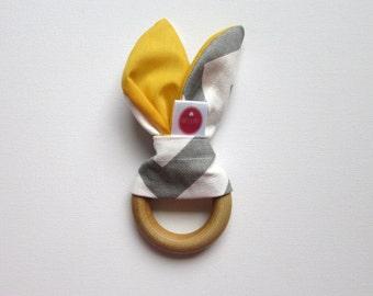 Teether  Tula accessories zig zag grey