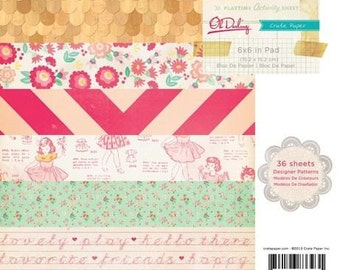 SALE! Oh Darling- 6x6 Paper Pad