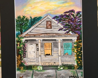 Key West Shotgun House Two