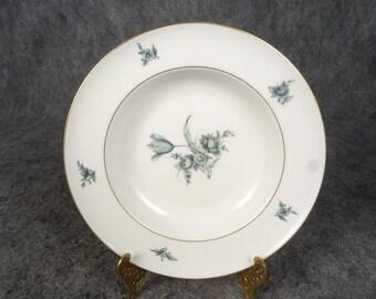 Vintage Konigl PR Tettau Soup Bowl With Gold Trim