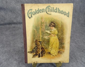 Golden Childhood Printed In Germany 1925