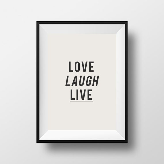Love Laugh Live Home D Cor Wall D Cor Wall Hangings