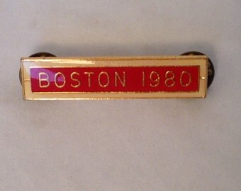 Boston 1980 American Legion Pin