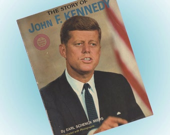 The Story of John F. Kennedy 1964 Wonder Books SC