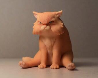 Garfi The Angry Cat - 3D Print
