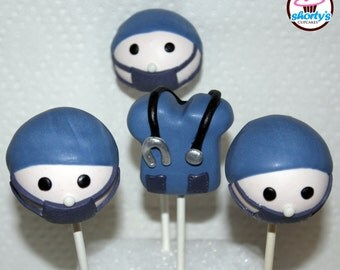 Operating Room Themed Gourmet Cake Pops