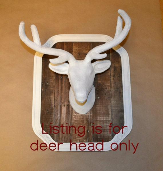 Faux Taxidermy Deer Head Wall Mount Deer Head By