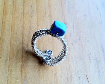 Wire Magnesite Ring- Ajustable Sizing