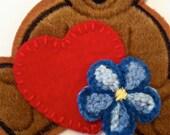 Kaylee Patch Set - Heart & Flower (Bear sold seperately)