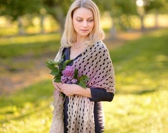 Shawl scarf knit shawl knit scarf lace shawl pin