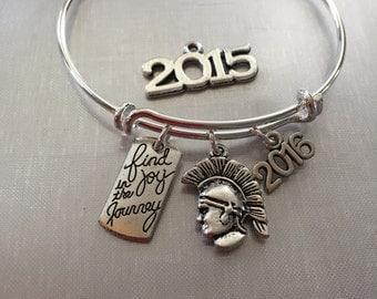 Trojan/Spartan bracelet-year 2017 2016 or 2015