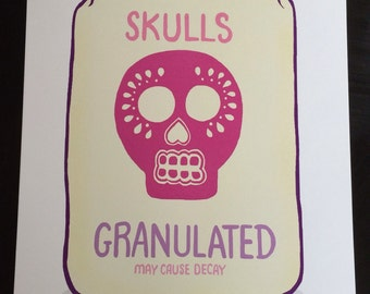Sugar Skulls Illustration