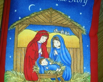 THE CHRISTMAS STORY Cloth Book: Item BK150055