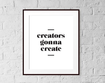 Art Print - The Quote Collection - Wall Art - 8x10 - Home Decor - Gift - Minimalist Print