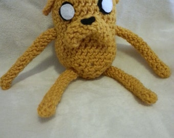 Crochet Jake the Dog from Adventure Time