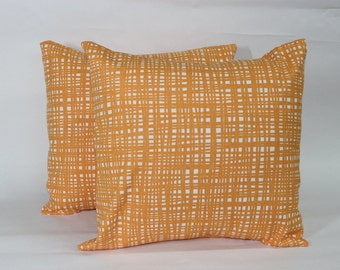 One Crossed Creamsicle Pillow Cover