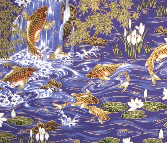 Poissons koi fortune asiatique japonais en or par gbaghawaii for Koi en japonais