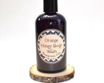 Natural Body Wash - Honey Body Wash - Body Wash for Men - Body Wash for Dry Skin - Body Wash for Men - Bodywash - Honey Soap - Moisturizing