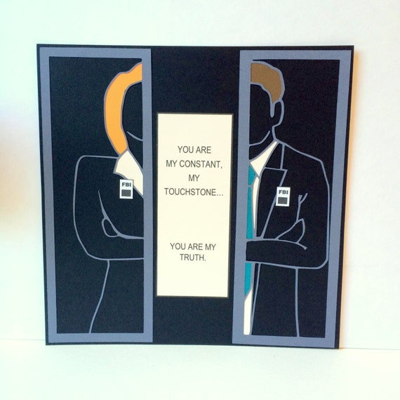 X Files Poster, Wall Hanging featuring Mulder and Scully