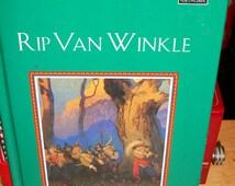 Vintage RIP VAN WINKLE Children's Book