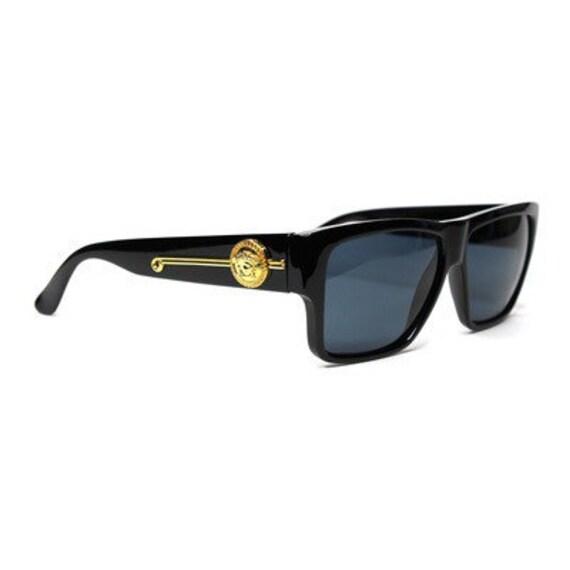 lunettes de soleil versace vintage 372 dm 852 bk. Black Bedroom Furniture Sets. Home Design Ideas