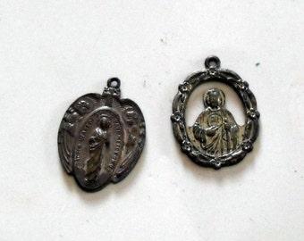 2 Religious medals