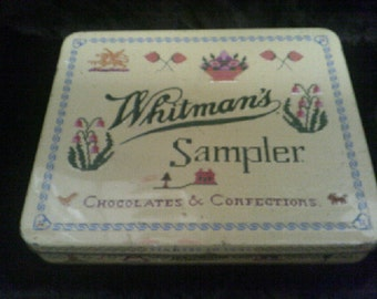 Tin Whitmans Sampler Chocolate Confections