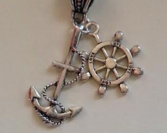 Sea Anchor Dangle-European Charms Style