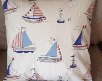 Nautical cushion cover