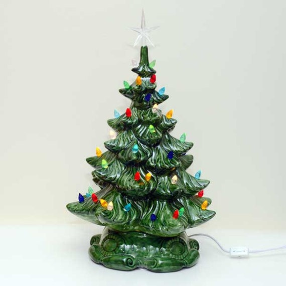 Lighted Christmas Carolers Ceramic Decoration By: New Large Lighted Ceramic Christmas Tree