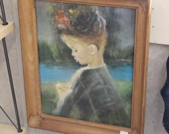 Precious Little Girl Framed Print