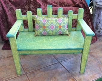 Boho Child's DayDream Bench