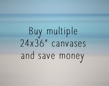 """Canvas Offer - Buy multiple 24x36"""" canvases from my shop and save money! Wall art, office decor, corporate art, home decor, oversized art"""