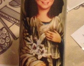Suzanne Sugarbaker Delta Burke Designing Women Prayer Candle