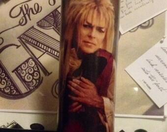 Jareth Goblin King Labyrinth David Bowie Prayer Candle