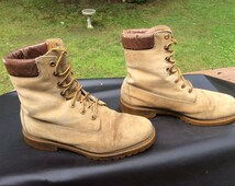 80's Wolverine Mens Work Boots FREE SHIPPING!!