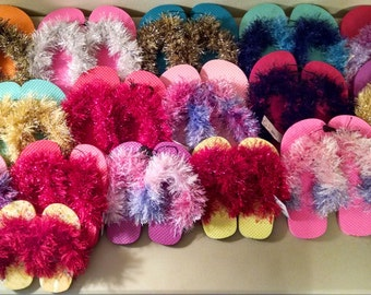 Flip Flops for Kids/Fur Flip Flops
