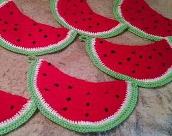 Watermelon Potholder/Trivet