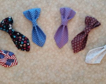 Over the Collar Removable Pet Neck Tie -- proceeds to animal charity!