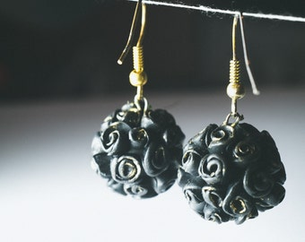 Earrings from Polymer Clay