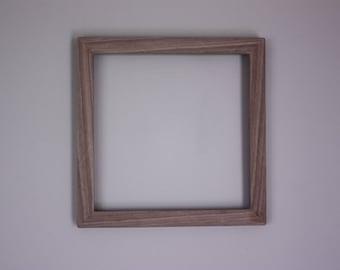 Raw Walnut Frame fit for 8.5x8.5 Photo