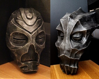 Skyrim inspired Dragon masks bundle with free worldwide shipping