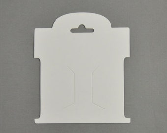 50 Pack - Hair-Bow Display Cards Small