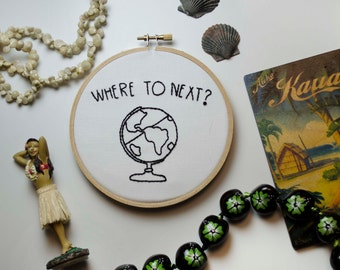 Embroidery // Where To